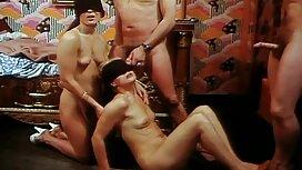 Grupni kurac na sex vintage film poslu